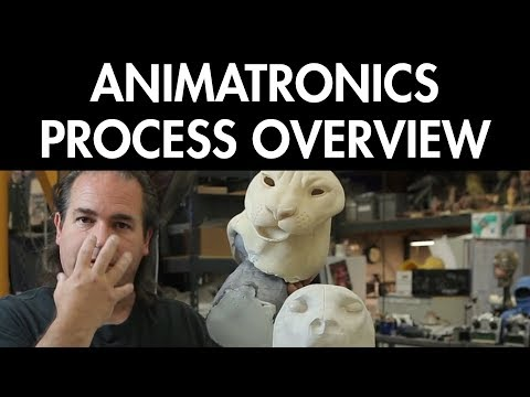 Animatronic Animals: Finding Reference & Process Overview - FREE CHAPTER