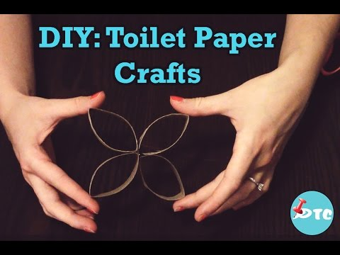 How to make toilet paper roll crafts