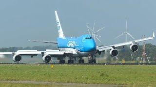 TOP 10 CROSSWIND LANDINGS of 2019 - AIRBUS A380, BOEING 747, GO AROUND ... (4K)