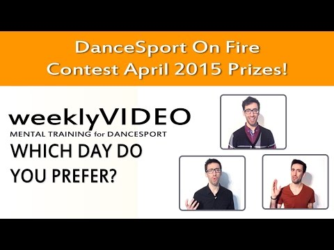 April 15 Monthly Contest - DanceSport On Fire