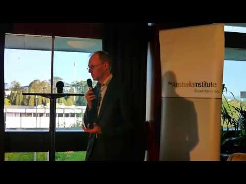 David Ritter, CEO of Greenpeace Australia- Politics in the Pub Oct 2013