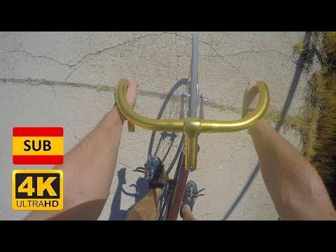 🚲 TRACK FIXED GEAR BIKE (46X16) ↗ 16% Hill Climb | CHALLENGE FIXIE | GoPro
