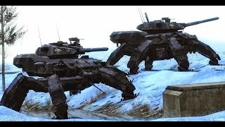 Russian Army Alien Tech Terminator Robots Cyborgs To Crush US Military. Don