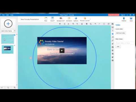 Focusky Tutorial: How to Make Inserted Video Play Automatically or Manually?