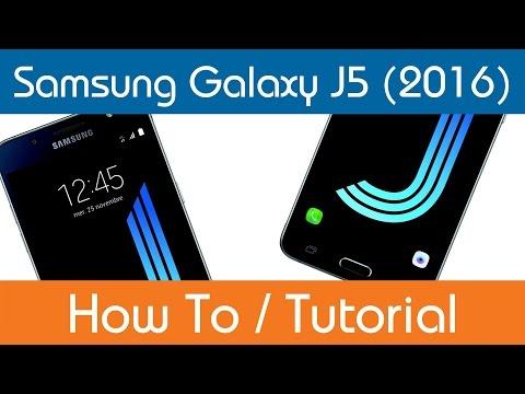 How To Create A Samsung Account - Samsung Galaxy J5