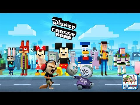 Disney Crossy Road - Little Guys Finnick and Barrel Hit the Road (iOS/iPad Gameplay)