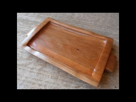 Making a Wooden Serving Tray
