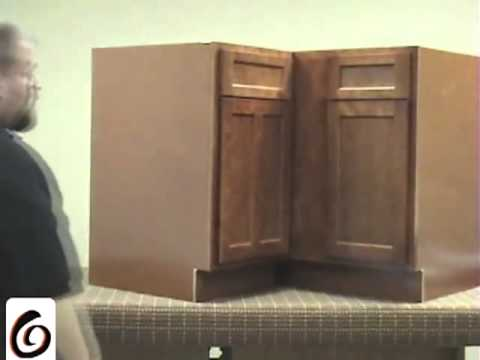 How to install wall and base blind corners