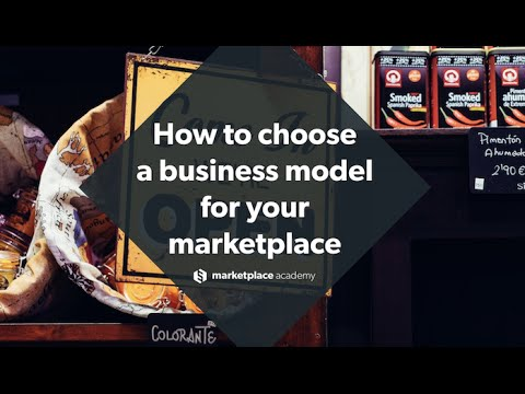 How to choose the right business model and revenue model for your marketplace