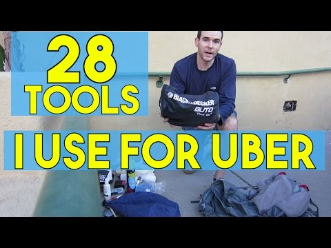 28 Tools I Use For Uber! My Rideshare