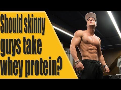 Should skinny guys take whey protein?