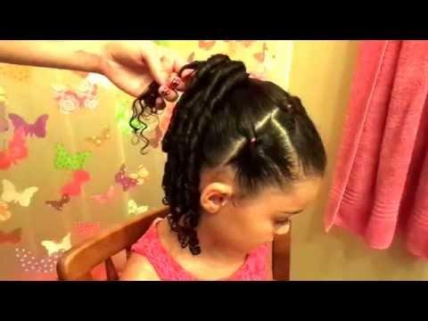How to do elastic flips. (hair tutorial)