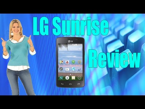LG Sunrise TracFone: Smartphone Review