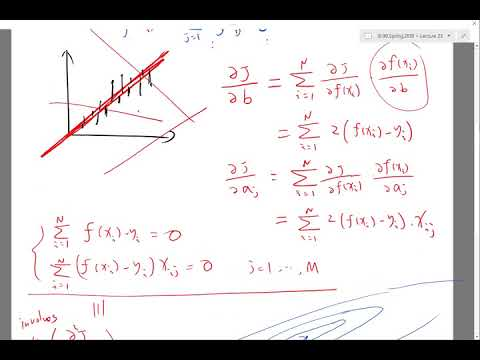 Linear regression method Part 3
