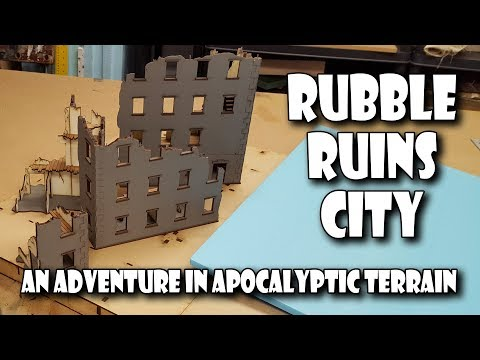 Introducing the Rubble Ruins City terrain project
