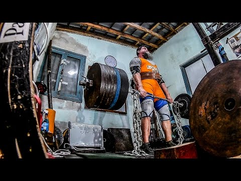 Deadlift Death PR and Isometrics: 703 lbs + 55 Chains!