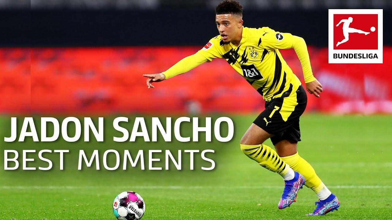 Jadon Sancho - Best Moments, Goals, Skills & More