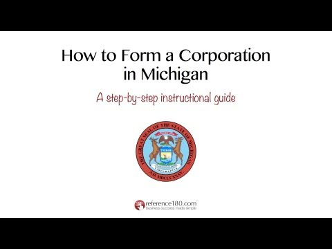 How to Incorporate in Michigan