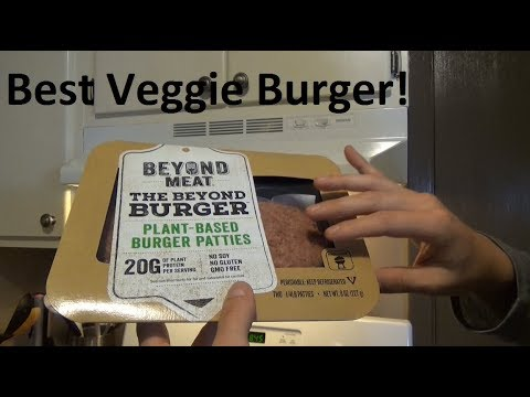 BEST Veggie Burger?!?  The Beyond Burger Review!