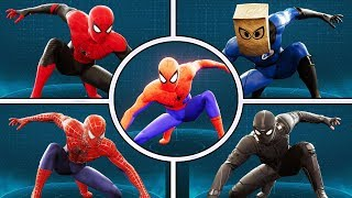 Download ALL 42 Suits of Spider-Man Ps4 Video