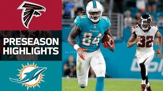 Falcons vs. Dolphins | NFL Preseason Week 1 Game Highlights