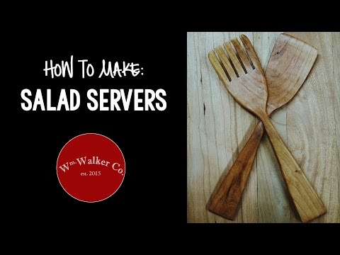 How to Make Salad Servers