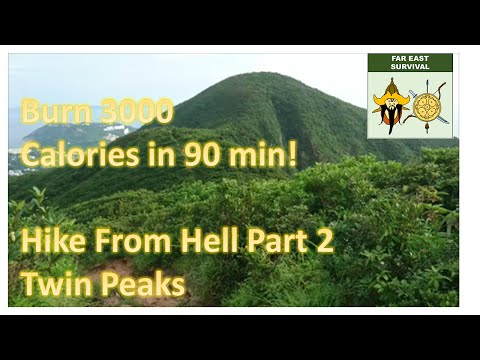 Burn 3000 calories in 90 minutes: Hike From Hell Twin Peaks (Part 2)
