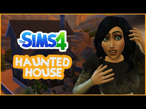 Sims 4 Speed Build - A Haunted House