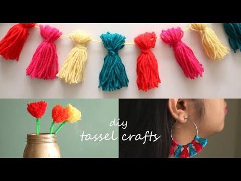 3 Easy Tassel Crafts