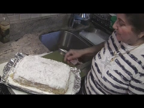 Angelo's Mom Makes Greek New Year's Cake (Vasilopita)
