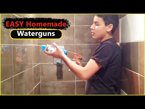How To Make STRONG Water Guns (HD)