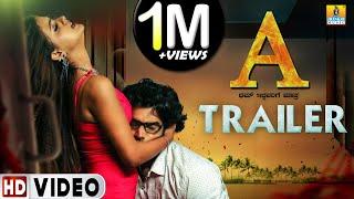 """A"" Kannada Movie New Trailer 2019 | HD Video | Raghavendra T C | Jhankar Music"