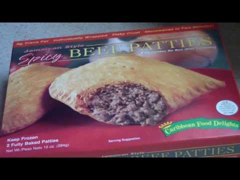 JAMAICAN BEEF PATTIES CARRIBBEAN DELIGHTS SPICY STYLE
