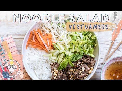 Vietnamese Beef NOODLE SALAD (Bun Bo Xao)