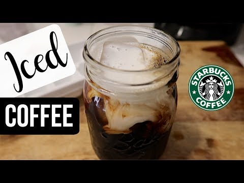 MY EVERYDAY COFFEE RECIPES // Starbucks Iced Coffee Dupe