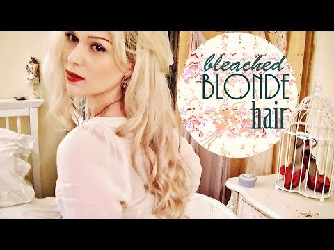 BLEACHING HAIR WITHOUT DAMAGE   LAUREN IVRY