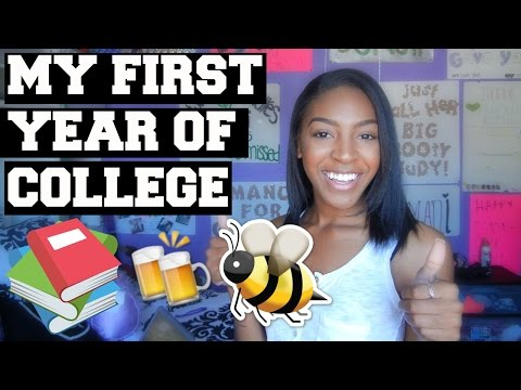 MY FIRST YEAR OF COLLEGE | ADVICE FOR INCOMING FRESHMEN
