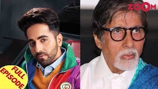 Ayushmann announces SMZS star cast | Amitabh Bachchan faces protest outside his home & more