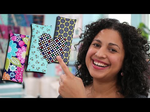 How to Sew Hot/Cold Packs and Hand Warmers with Crafty Gemini