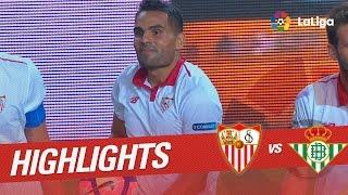 Resumen de Sevilla FC vs Real Betis (1-0)