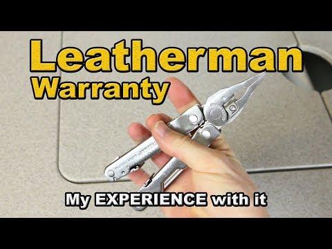 Leatherman Warranty Experience - it was great