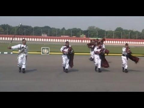 Indian Military Pipe Band Award Winning Performance