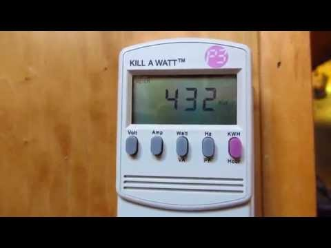 P3 Kill A Watt Electricity Meter - Demo and Review Model P4400