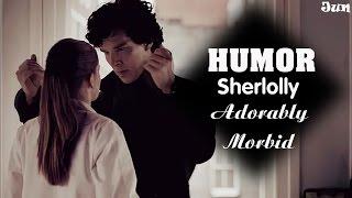 Sherlock & Molly HUMOR | Adorably Morbid ( Sherlolly) Engsub