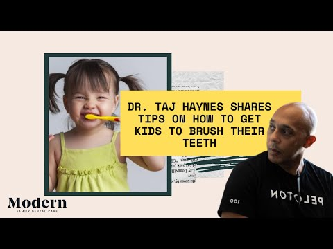 How to Get Kids to Brush Their Teeth by Charlotte Dentist Taj Haynes