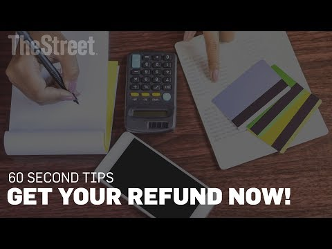 Get Your Tax Refund.. Now!