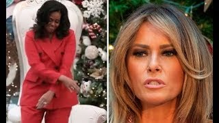 Download Melania Trump Just Can't Shake Michelle Obama's Shadow: She Was Overshadowed Video