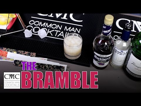 The Bramble, 1980's Cocktails Remixed