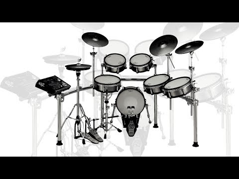 Roland Electronic Drum Set With Pintech Reaction Heads