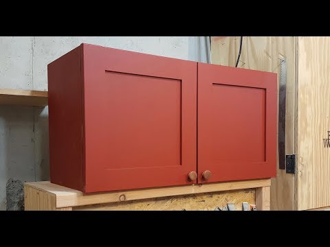 Sandpaper Storage Cabinet